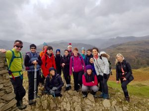 YogaHikes Loughrigg Summit Sunday Hike