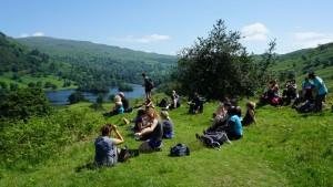 yoga hikes grasmere lakeshore