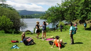 Rydal water lunch stop