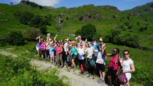 Yoga hikes grasmere break Easedale walk