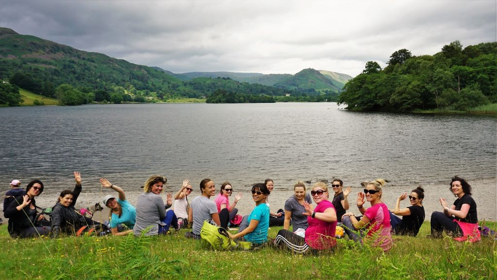 Yoga Hikes Grasmere view