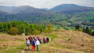 May bank holiday hiking break sunday walk to Loughrigg