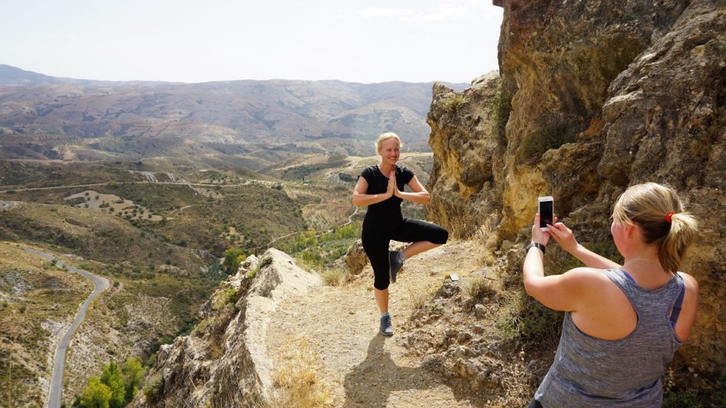 Yoga Hikes Spanish break day 2 hike