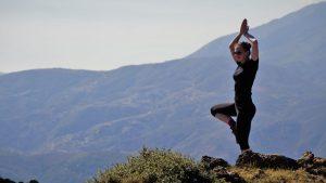 spanish yoga hiking