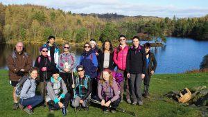 mid winter yoga hikes break - Yewfield
