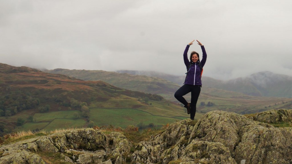 Yoga on Todd Crag