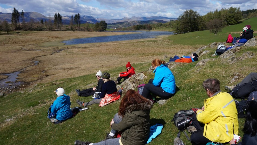 Windermere yoga hiking lunch stop