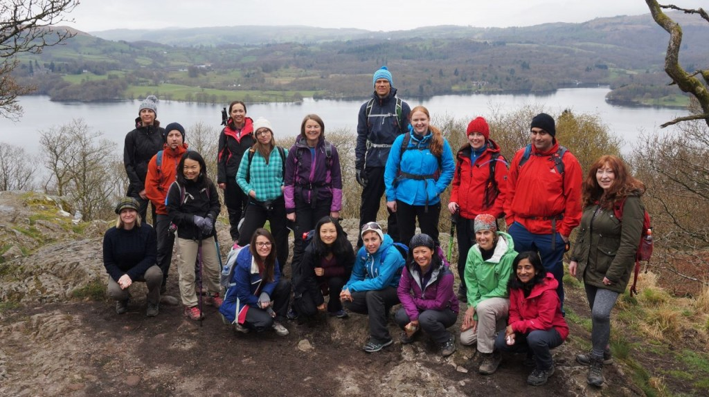 Windermere Yoga Hiking Weekend - Jenkins Crag