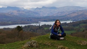 Windermere Yoga Hiking Weekend orrest head photo opportunity