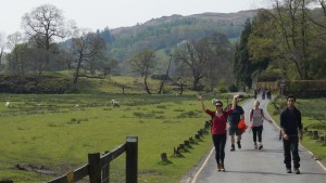 Ambleside yoga hikes weekend Rothay