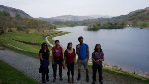 Ambleside yoga hikes weekend Rydal Water
