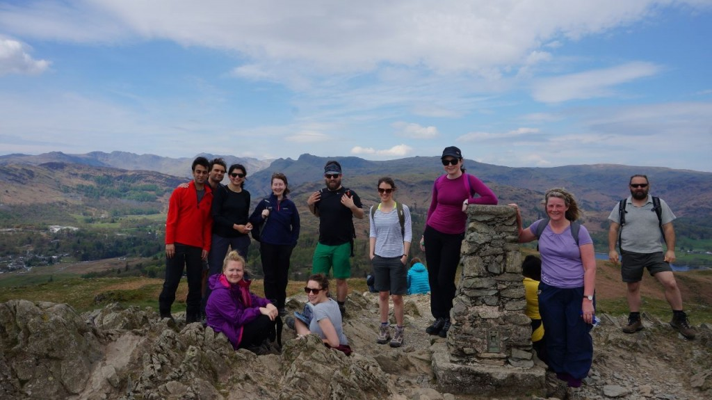 Loughrigg Fell yoga hiking weekend