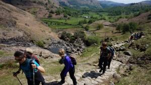 Lake District yoga hiking  group
