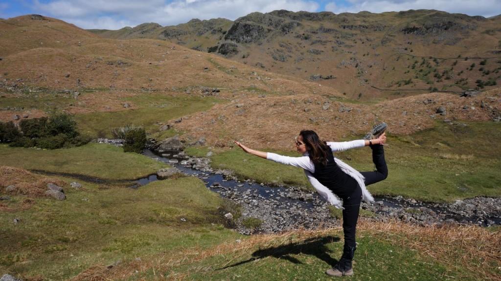 Grasmere yoga pose