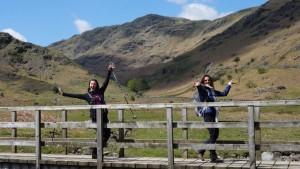 Lake District yoga hiking walk