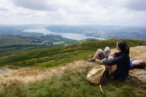 Ambleside yoga hikes - Wansfell Hike