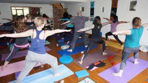 Cumbria yoga hiking weekend studio