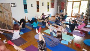 Cumbria yoga hiking weekend class