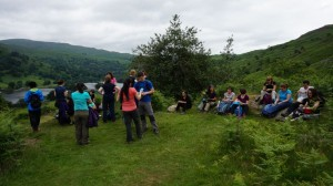 Grasmere yoga and hiking rydal water