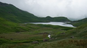 Easedale Tarn hiking