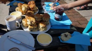 tea and scones in windermere
