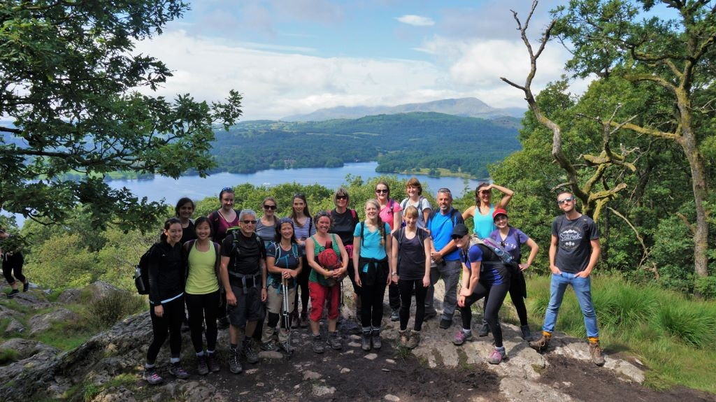 Lake district yoga hikes jenkins crag