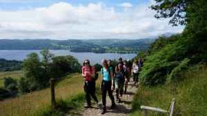 lake district yoga hikes ambleside