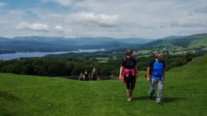 lake district yoga hikes windermere view