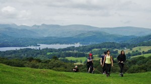 lake district yoga hikes windermere walk