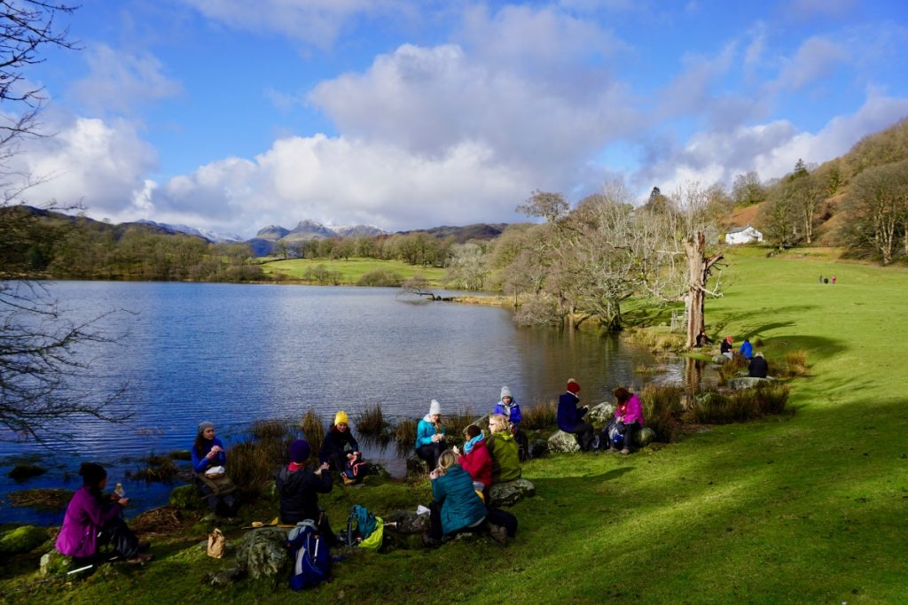 2019 yoga hikes - Rydal Sunday walk.