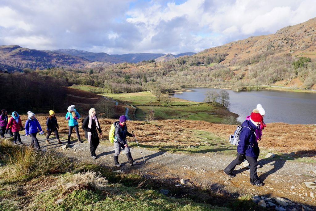 2019 yoga hikes - Rydal Sunday walk