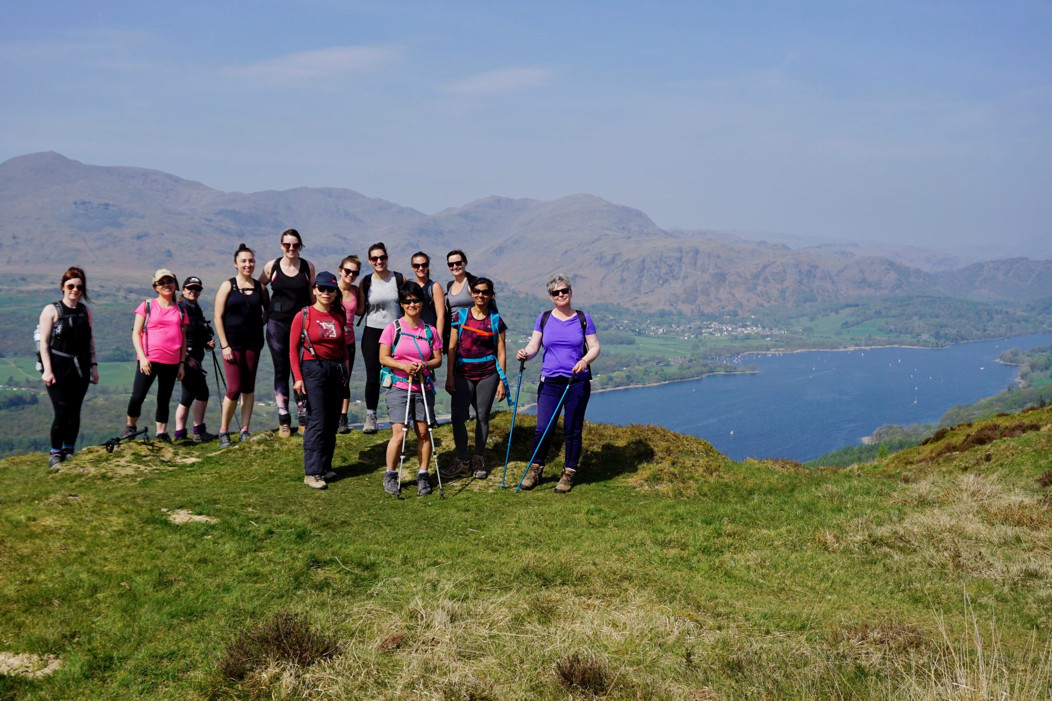 Hiking and Yoga in the Lake District