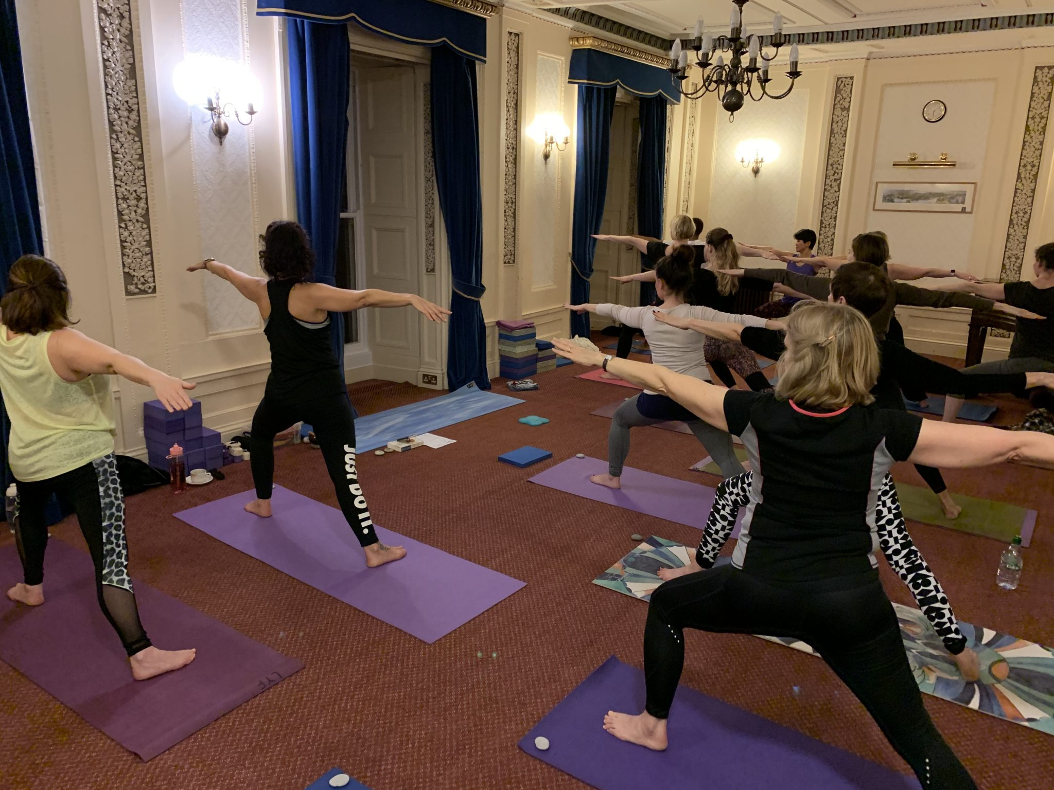 2019 yoga hikes class at Rydal