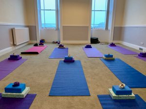 YogaHikes Brathay - Yoga room