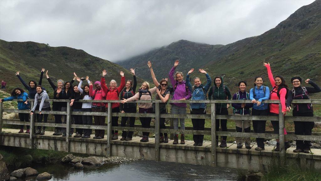 grasmere yoga hikes group shot