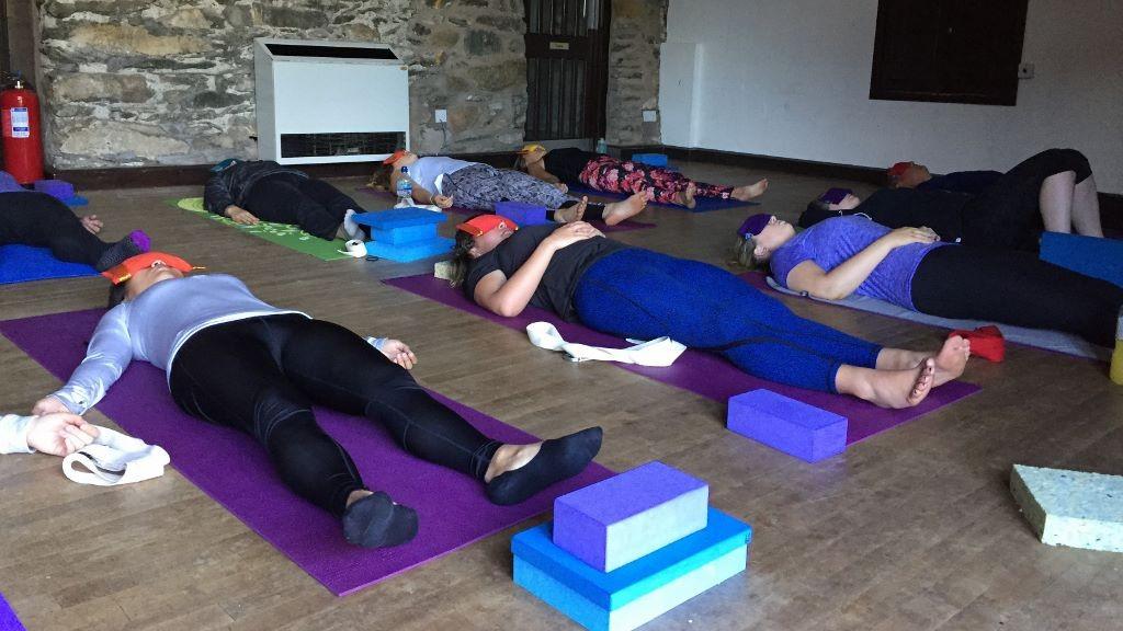 Rydal centre yoga class
