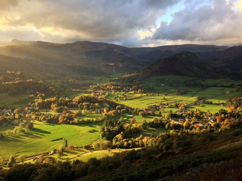 Alcock Tarn view