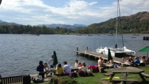 Ambleside yoga hikes sunday tea & cake