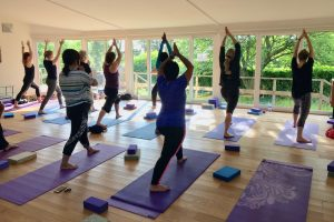 Yoga Hikes Yewfield break - yoga class