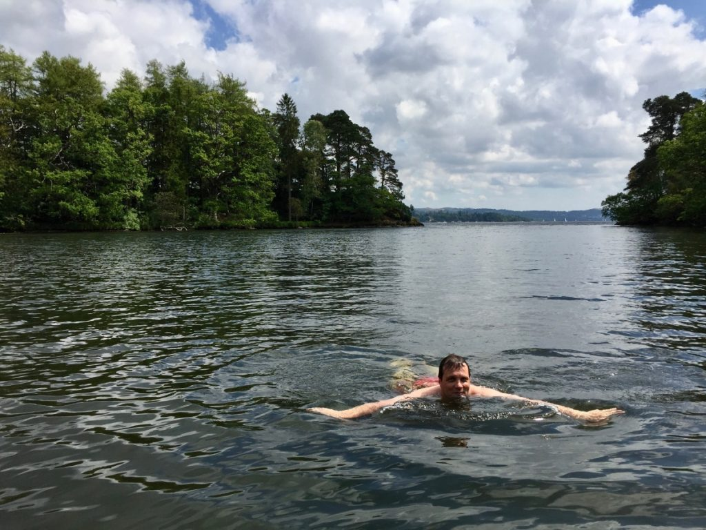 Ambleside Yoga Hikes Break - Wild swimming