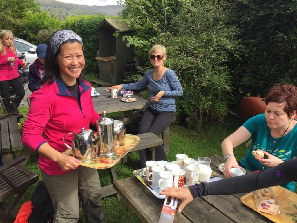 Yoga Hiking Tea & Scones at nab
