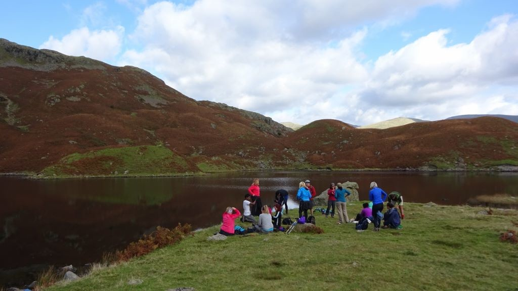 nab cottage yoga hikes easedale tarn