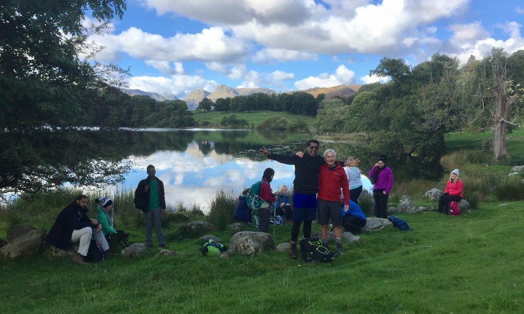 loughrigg tarn picnic spot
