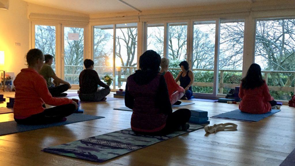 Yewfield Yoga Hikes Yoga studio