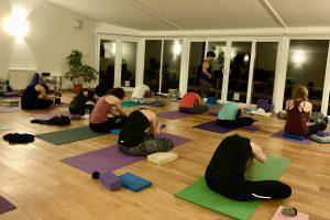 Yewfield Yoga Class
