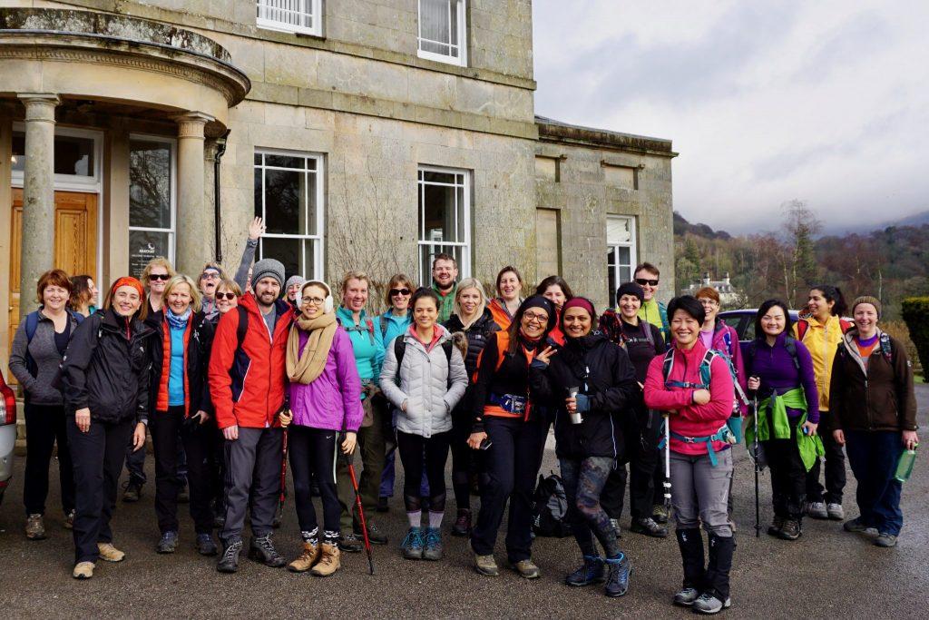 Lake District Yoga Hikes Break at Brathay Halll