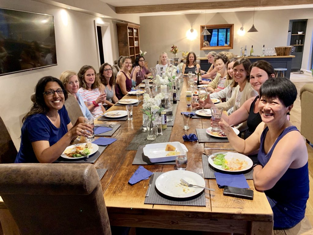 Peak District Yoga Hikes Dinner