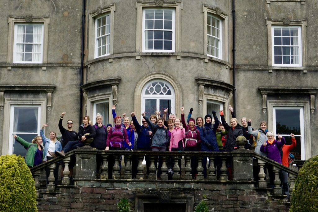 YogaHikes October Break at Rydal Hall in the Lake District.