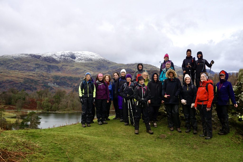 Yoga Hiking adventure, Yewfield group hike