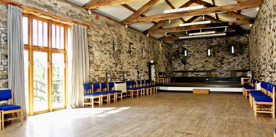 Barn Yoga studio at Rydal